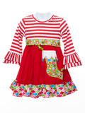 Millie Jay Girl's Applique Stocking Dress