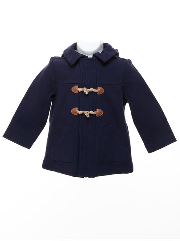 Mayoral Baby Boy's Deep Blue Trench Coat