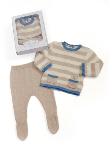 Mayoral Sweater and Footie Pants for Baby Boy