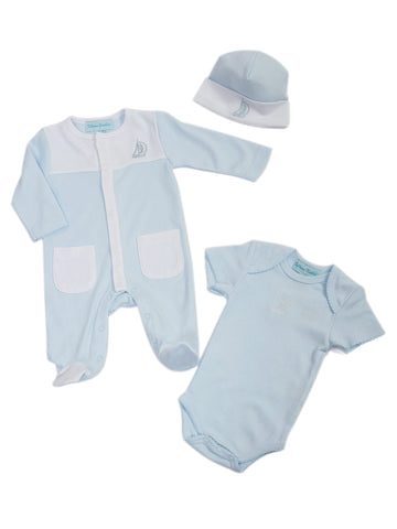Feltman Bros. Newborn & Baby Boys Three Piece Layette
