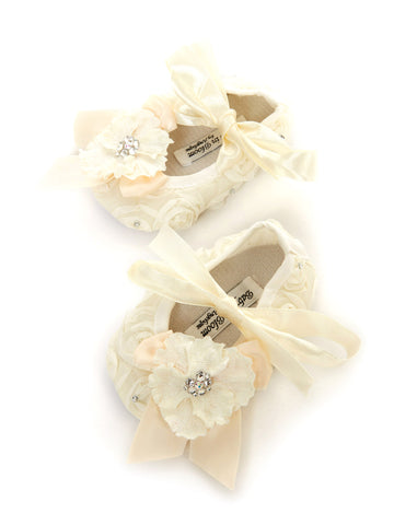 Babys in Bloom Crib Shoes