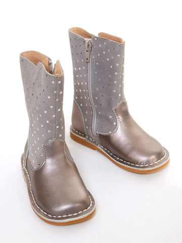 Livie & Luca Vega Mid-Calf Silver Star Boot