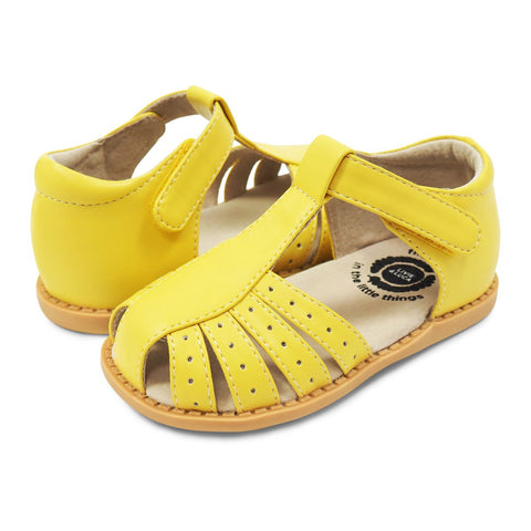 Livie & Luca Paz Sandal in Lemon Yellow