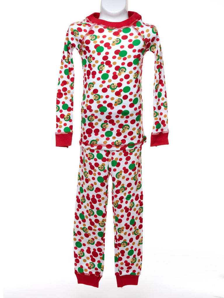 Holiday Print Long Sleeve Pajama