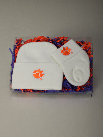 Clemson Pride 2 pc Gift Set Go Tigers!
