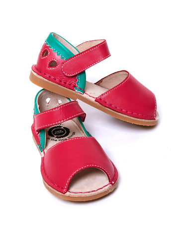 Livie & Luca Hot Pink and Turquoise Kea Shoe