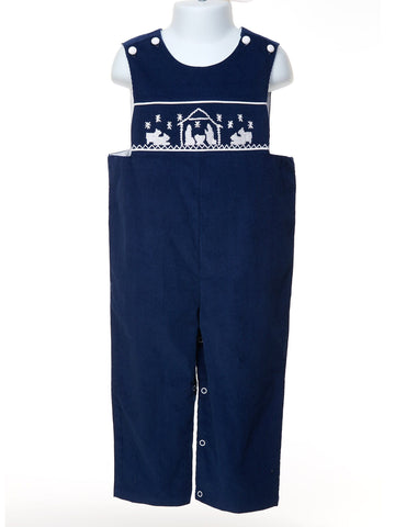 Be Christmas Ready in Our Nativity Smocked Longall