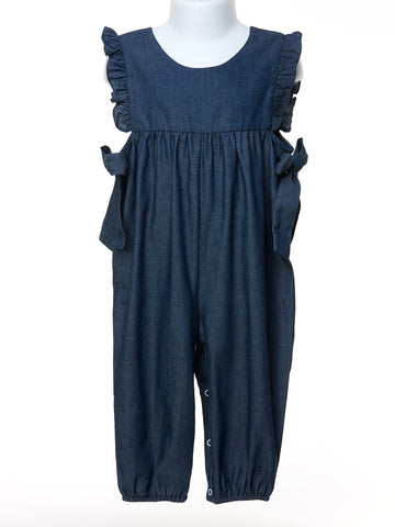 Looking Good Chambray Amelia Romper