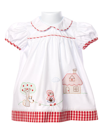 Zuccini Girls Shadow Little Red Riding Hood Dress