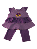East Carolina University Ruffle Shirt and Pants