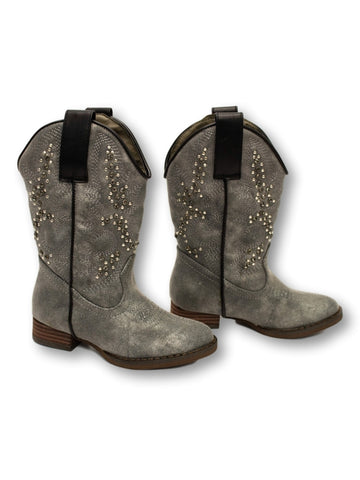 Stunner Western Boot in Grey