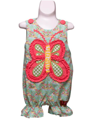 Butterfly Applique Bubble