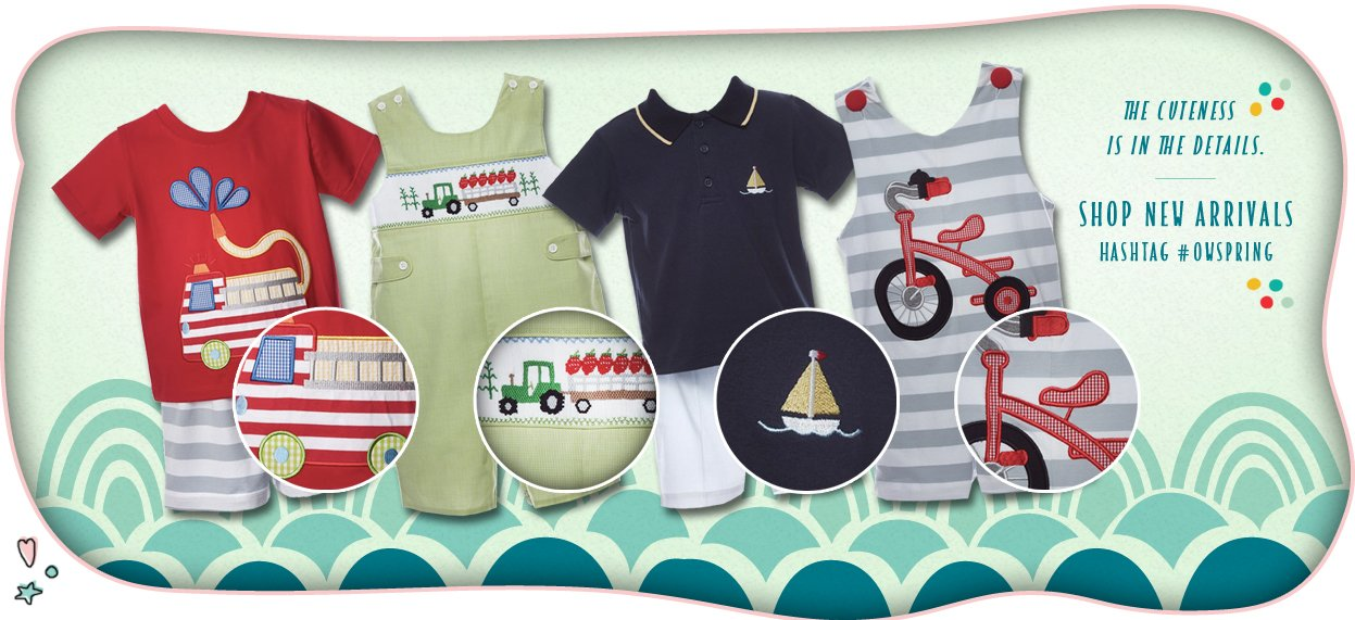 boys clothing smocking patches