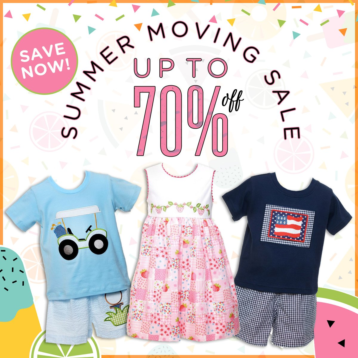 children's clothing sale