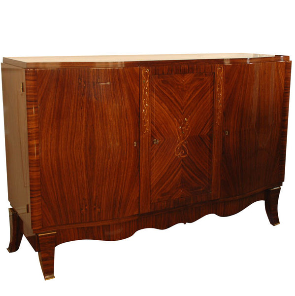 French Rosewood & Mother-of-Pearl Buffet