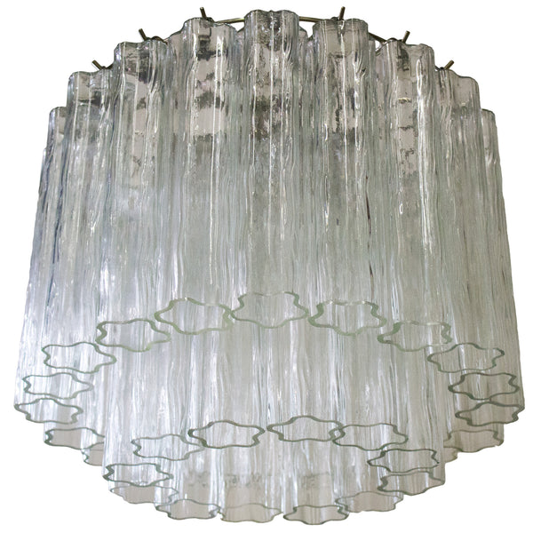 Custom Chandelier with Venini Glass