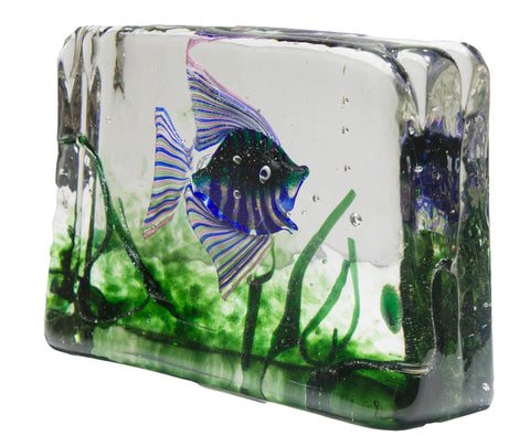 Small Aquarium by Alfredo Barbini for Cenedese c. 1960's