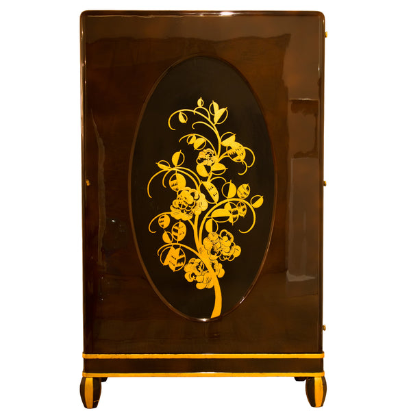 Lacquered Cabinet by Michel Dufet, 1930s