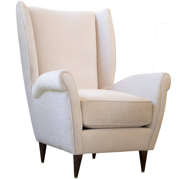 Pair of Italian Armchairs in the style of Paolo Buffa