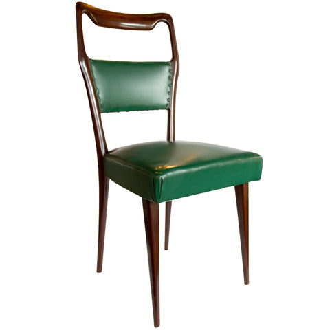 Set of 8 Italian Dining Chairs by Paolo Buffa