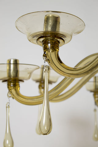 Amber murano chandelier by venini john gregory studios amber murano chandelier by venini aloadofball Images