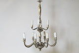 Pair of Italian Mercury Glass Chandeliers