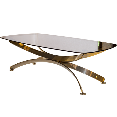 Italian Gold Wash Coffee Table