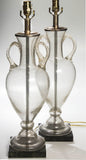 Pair of Murano Lamps by Barovier
