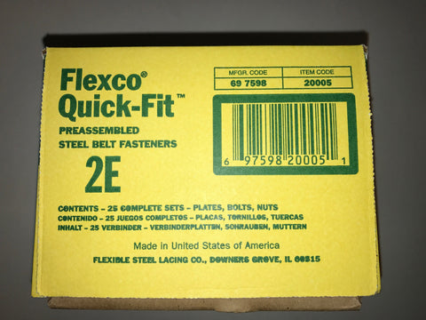 Flexco 2E Box