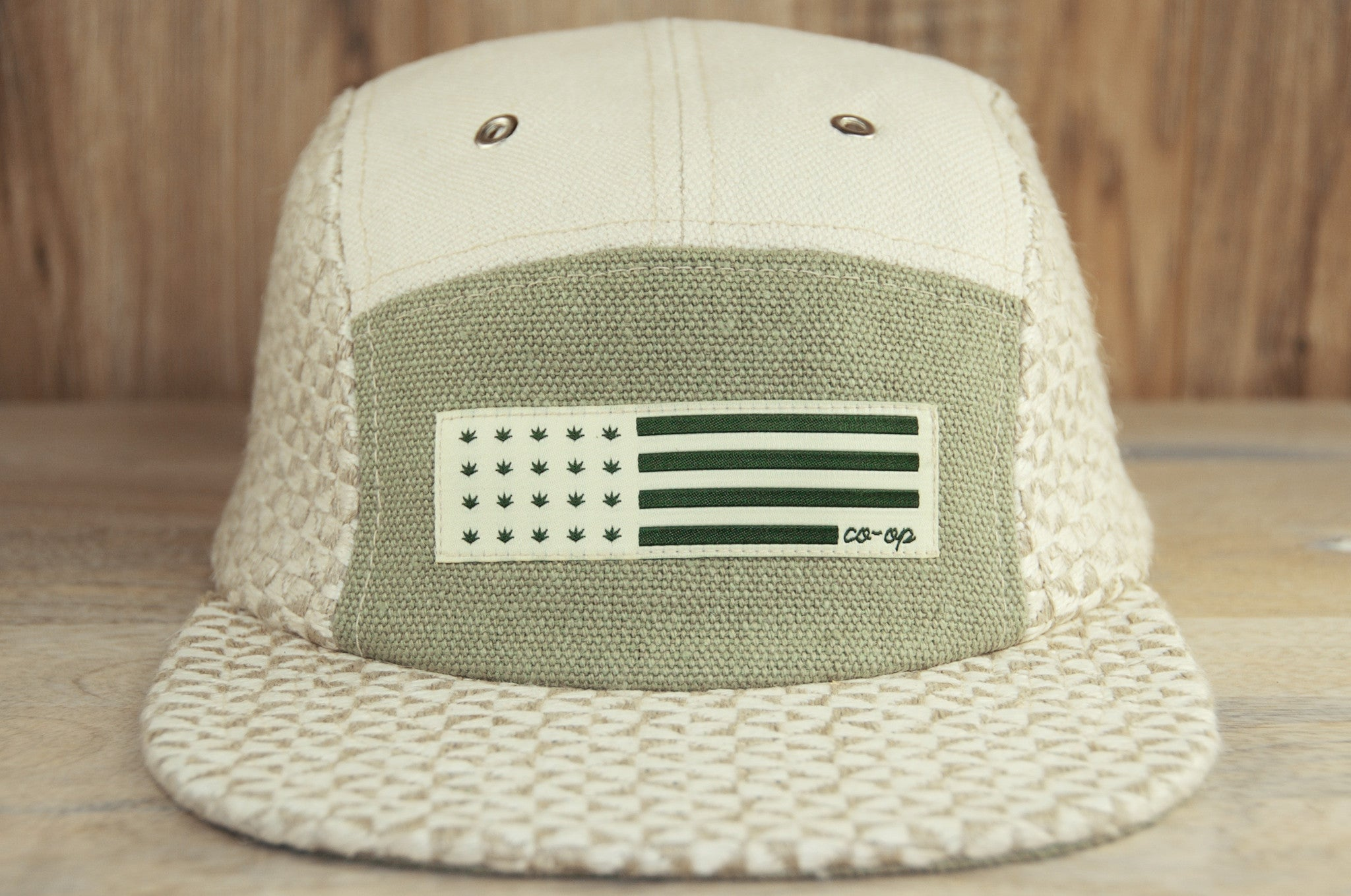 Velo City Hemp Pinwheel Cap (5-Panel) 1.0