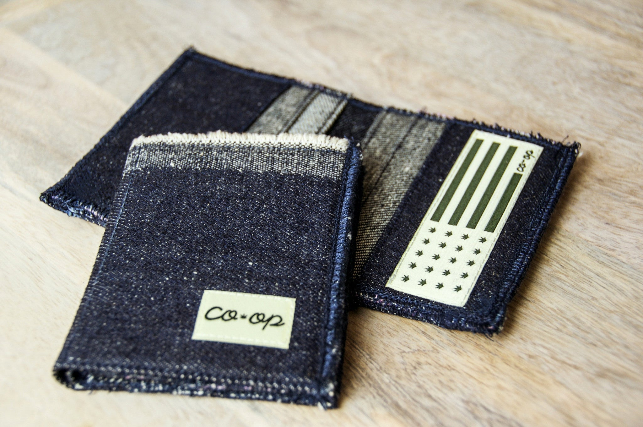 Coop Hemp Denim Hi-Bi-Fold Wallet 3.0