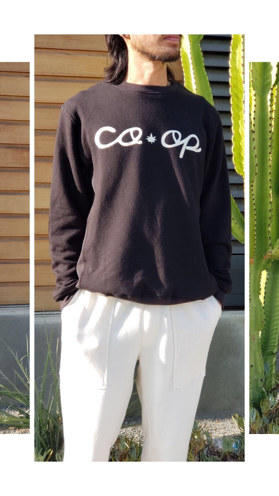COOP All Star Hemp Black Sweater  2.0