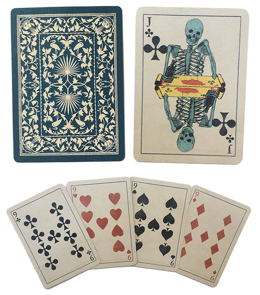Skeleton Playing Cards - Edition IV by Mike Willcox