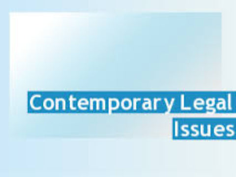 Contemporary Legal Issues for Educators - Part 1