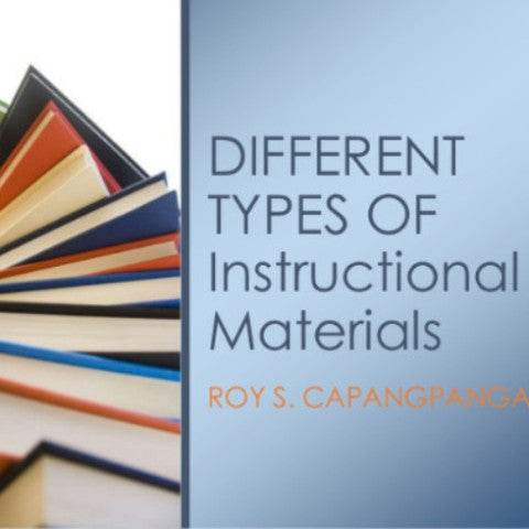 Developing Instructional Materials for the Classroom