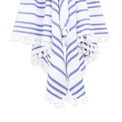 Beach towel with tassels