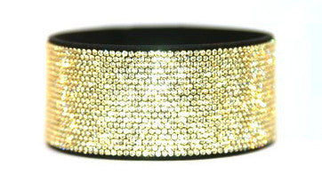 Micro Crystal Pave -  Bling Band Jonquil