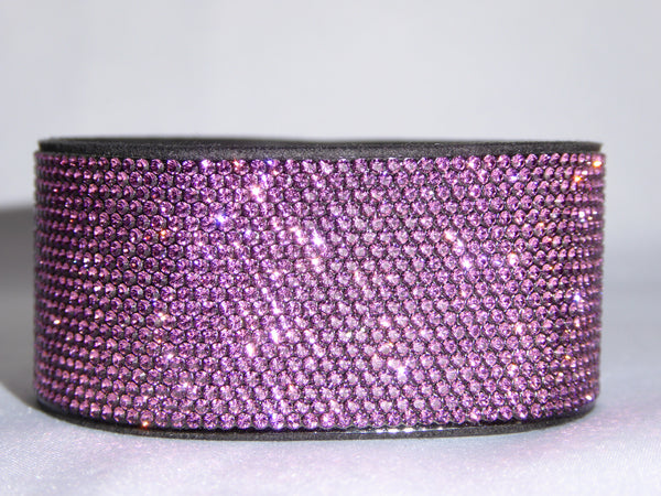 Amethyst Swarovski Crystal Bling Band