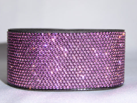 Amethyst Bling Band