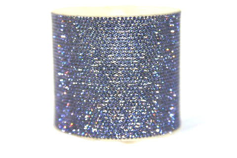 Instant Bliss Micro Pavee Crystal Band in Violet