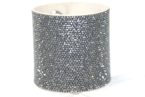 Instant Bliss Micro Pavee Chrome Crystal Band