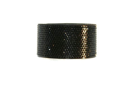Bling Band --Micro Crystal Pavee in Jet Black
