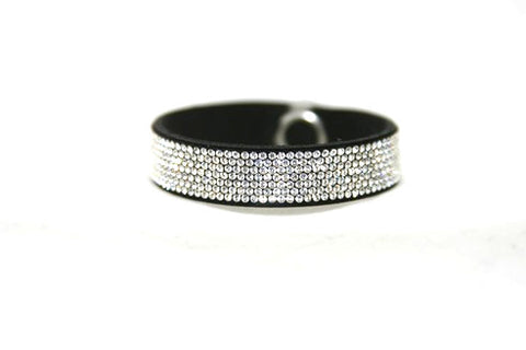 Children Bling Band- Swarovski Micro Crystal Pavee