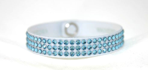 Children Roadster- Swarovski Crystal Aquamarine Bracelet