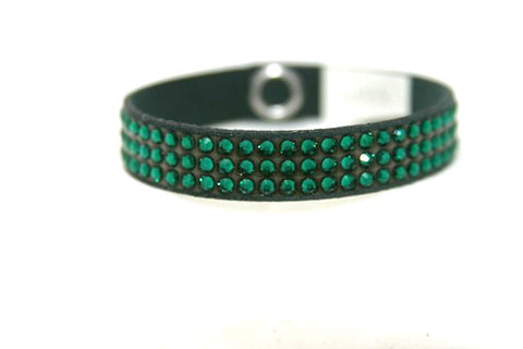 Children Roadster - Swarovski Crystal Emerald Bracelet