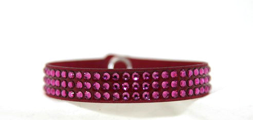 Children Roadster- Swarovski Crystal in Fuschia