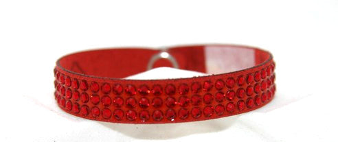 Children Roadster- Swarovski Crystal  Red Bracelet