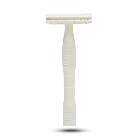 Well Kept Safety Razor - Cream | VitaBotanica