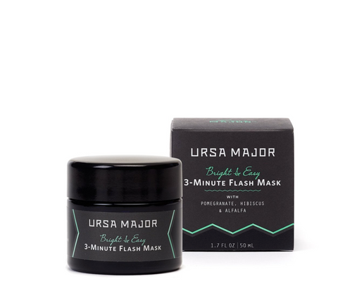 Ursa Major Bright & Easy 3 Minute Flash Mask - Buy online in Canada | VitaBotanica - Free shipping $75+