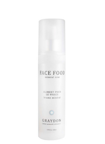 Buy Graydon Face Food Mineral Mist Online in Canada | VItaBotanica - Free shipping $85+